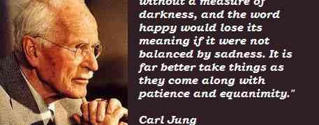 Carl Jung...en de maakbaarheid van het geluk